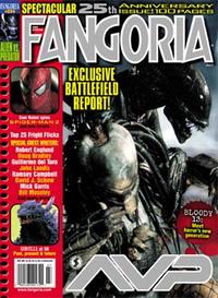Fangoria AvP - AvP in Fangoria Magazine