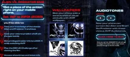 20040728 SMS Feature on AvP-Movie Site