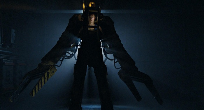 Powerloader Ripley Sigourney Weaver Aliens Aliens