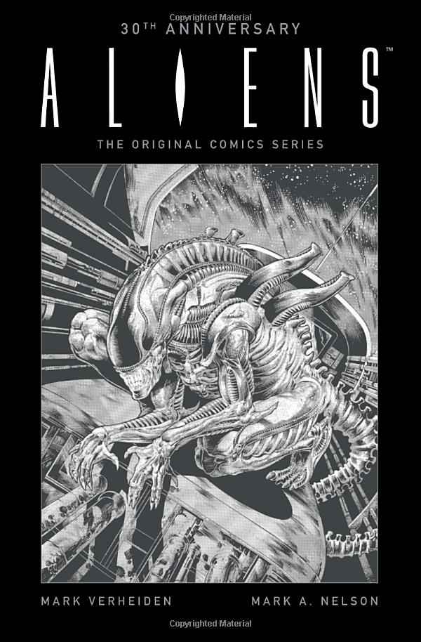 aliens-30th Aliens Graphic Novels