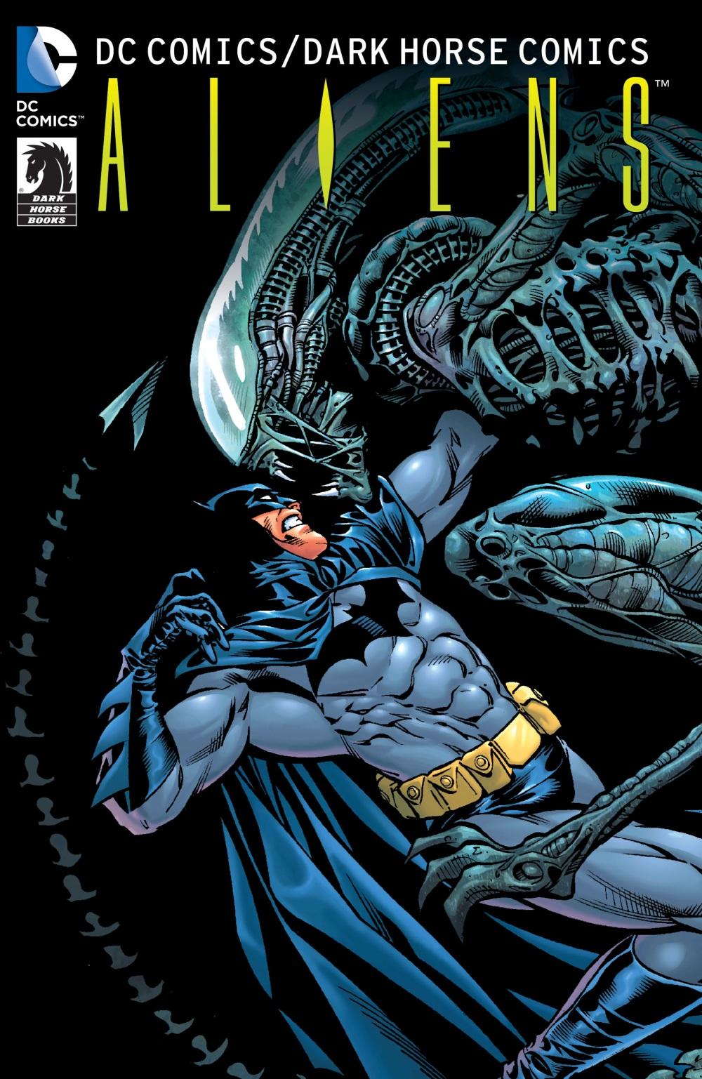 dc-comics-aliens Crossover Graphic Novels