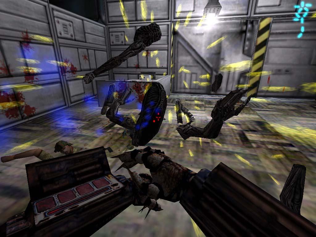 Screenshots of aliens vs predator demo 11