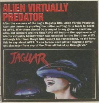 vravp Alien vs Predator (Atari Jaguar)