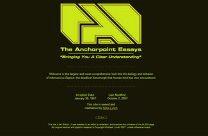 20071004_01 Anchorpoint Essays Back Online