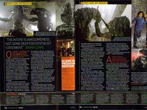 20071027 - AvPR Article in Empire Magazine
