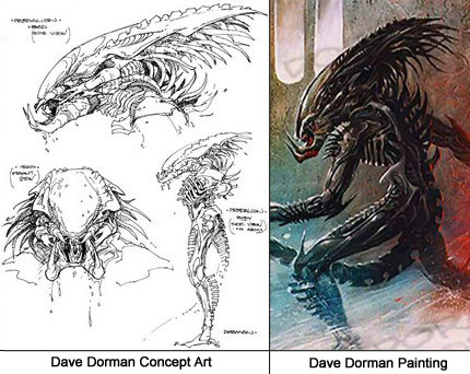 20071029 - Dave Dorman on AvPR Predalien
