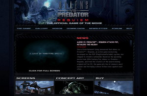 20071121 AvP PSP Site Launched