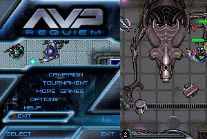 20071220_01 AvP Requiem Mobile Game