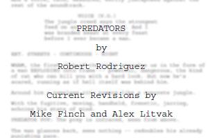 20091111 Predators Script Leaked!