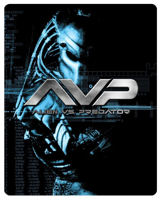 AvP Steelbook Blu-Ray Front  [UK] (2014) Alien vs Predator