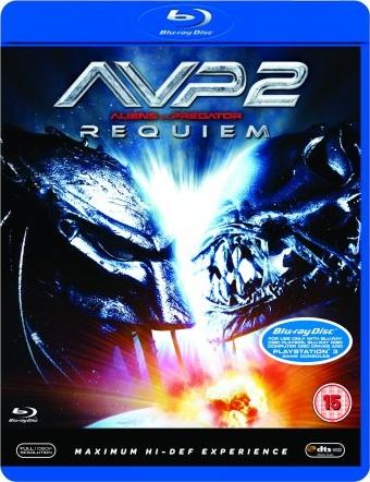 AvP Requiem Blu-Ray [UK] (2008) AvP Requiem DVDs & Blu-Rays