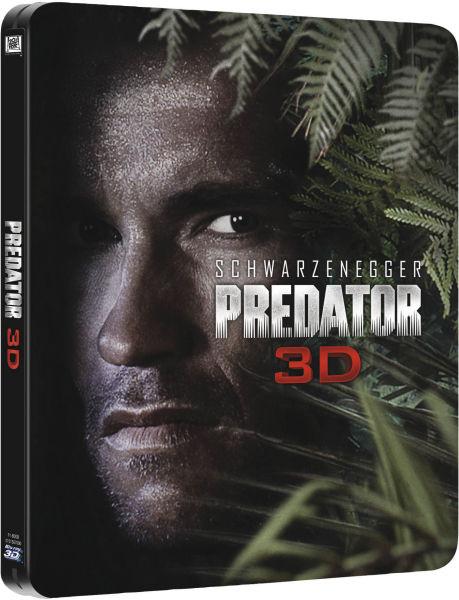 Predator 3D Blu-Ray Steel Case [UK] (2014) Predator DVDs & Blu-Rays