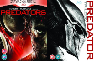 UK Predators BR/DVD Release