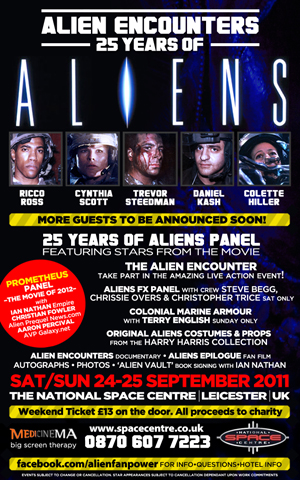 More Aliens Encounters Convention Details