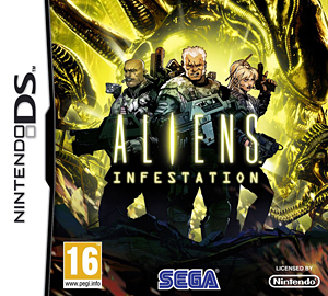 Aliens Infestation Officially Released in Europe!