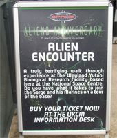 Alien Encounters - 25 Years of Aliens Convention Report