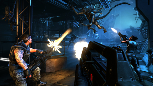 AvPGalaxy Previews Aliens Colonial Marines