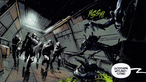 Aliens: Colonial Marines Dark Horse Comic Preview