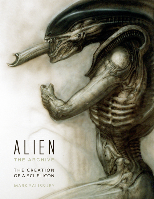 The cover for Alien - The Archive by Mark Salisbury Alien - The Archive Announced