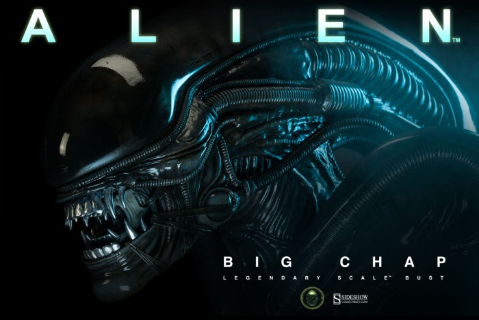 Sideshow Collectibles Alien Big Chap Bust Sideshow Collectibles Alien 'Big Chap' Bust