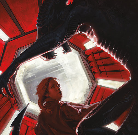 Cover art by David Palumbo. Image provided via Comic Book Resources. Chris Roberson Interviewed About Aliens