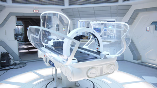 The med-pod as featured in Prometheus. Tim Lebbon Interview