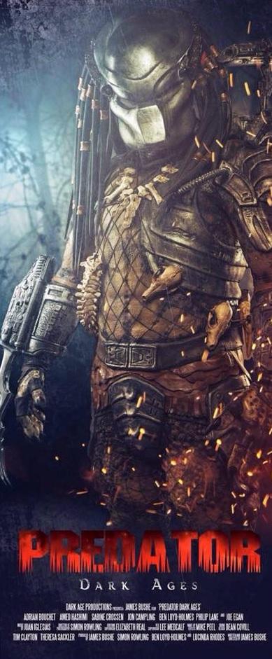 Predator Dark Ages Poster Predator Dark Ages
