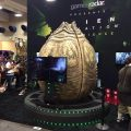Play Alien Isolation in Giant Alien Egg at Comic-Con 2014