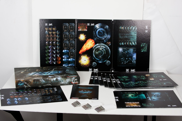 AvP Miniatures Game Prodos Games Prodos Games Reveals Artwork of AvP Miniatures Game