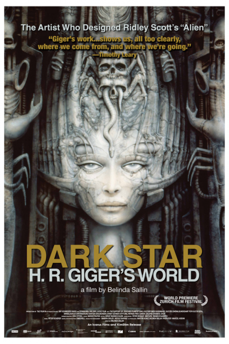 050215_01 Dark Star: H.R Giger's World Poster