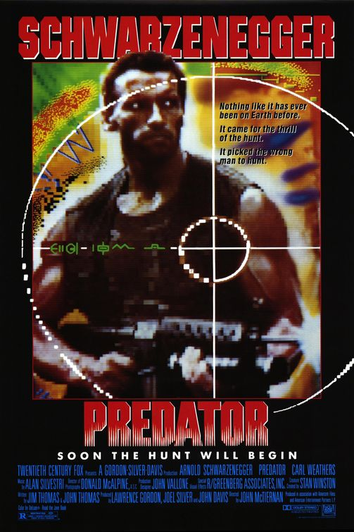 predator-poster Predator Coming Back To UK Cinemas May 11th 7PM