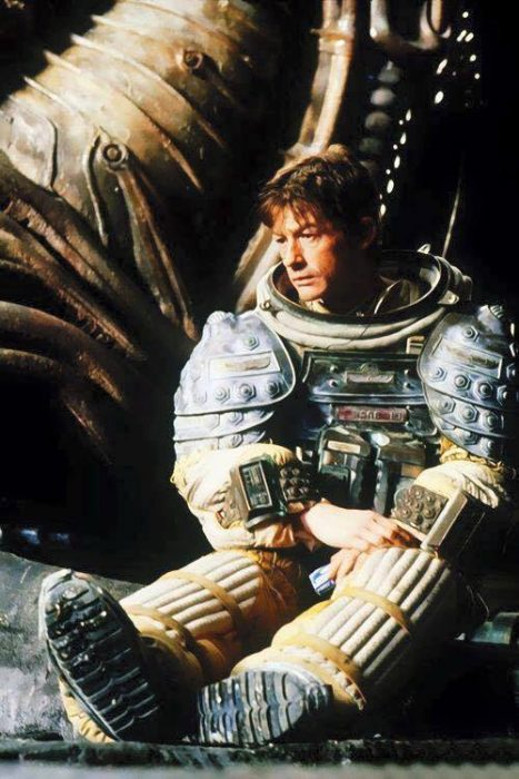 John Hurt takes a much needed rest on the set of Alien. John Hurt Diagnosed with Pancreatic Cancer
