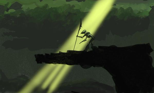 predatorpitch04 Director Vincenzo Natali Shares His Predator Pitch Artwork