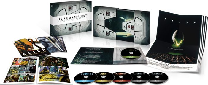 Alien Anthology Nostromo Packaging Alien Anthology 35th Anniversary Edition