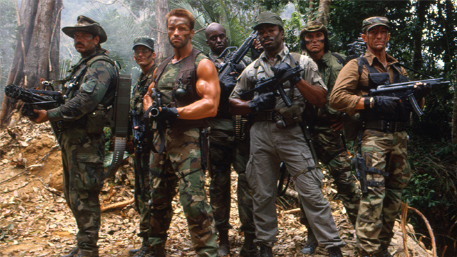 Shane Black also played Hawkins in the original Predator.  Predator 4 Will