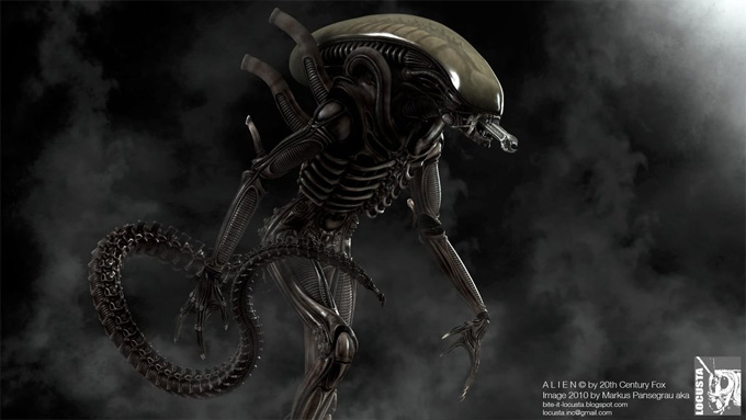 One of Markus' amazing Alien renders.  AvPGalaxy Podcast #28 - Interview with Markus Pansegrau about Alien: The Weyland-Yutani Report