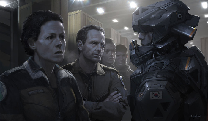 051015_01 Ridley Scott Talks Neill Blomkamp's Alien 5