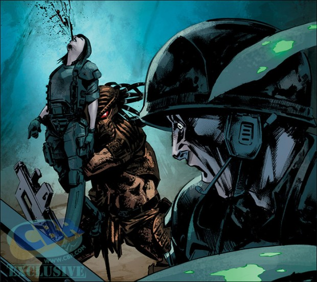 Predator: Life and Death is a 4 part series releasing in March 2016. Predator: Life and Death Announced - New Comic Series