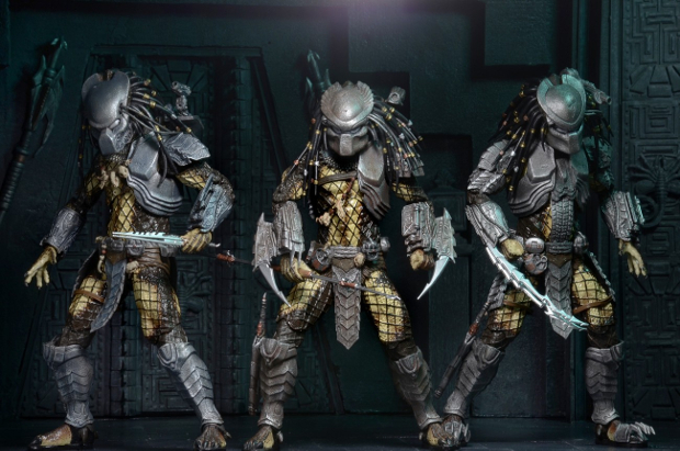 NECA Predator Series 15 has been officially announced. The new series includes Masked Scar, Ancient Warrior and Temple Guard from AvP. NECA Predator Series 15 Announced