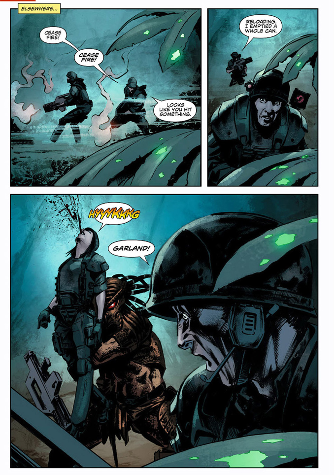 Predator: Life and Death #1 preview is now online! Predator: Life and Death #1 Preview
