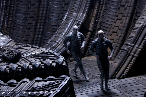 "Casting for Alien: Covenant has begun and the call asks for people who are ""skinny & very tall or skinny & very short but strong and very physically agile."" Picture is from behind the scenes of Prometheus. Casting for Alien: Covenant Has Begun"