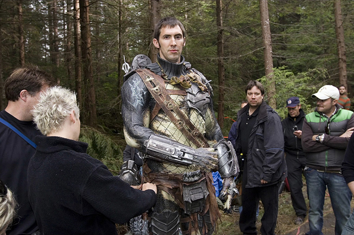 Ian Whyte behind the scenes on Aliens vs. Predator Requiem  Ian Whyte Interview (2)