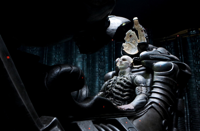 Ian Whyte takes his place in the Pilot's Chair in Prometheus. Ian Whyte Interview (2)
