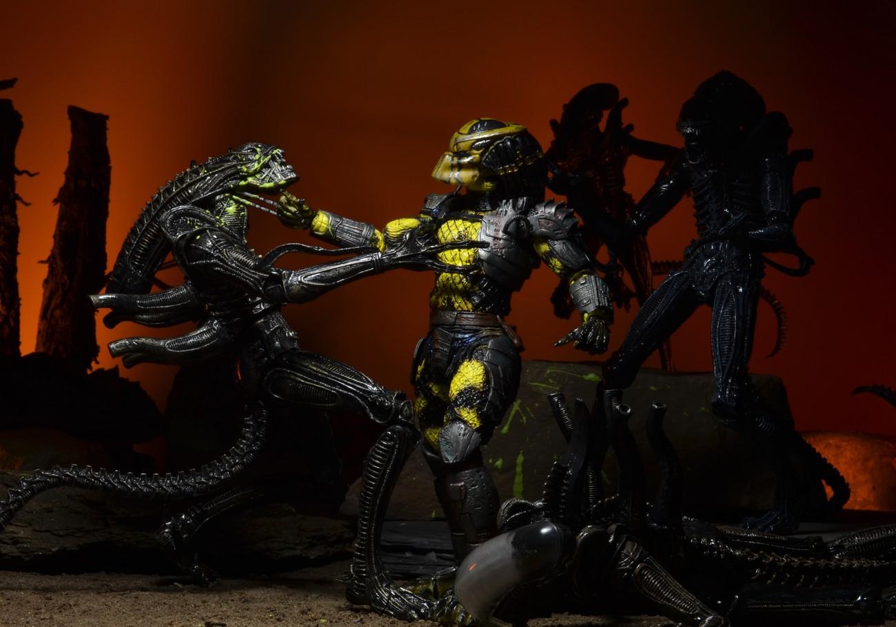 Neca Predator Series 11 Wasp Lost Predator Thermal Dutch