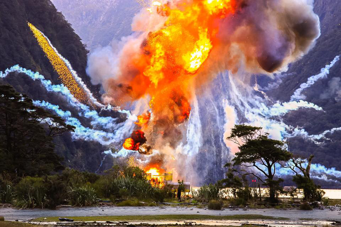 Explosion Seen on Location of Alien: Covenant *Spoiler Alert: Explosion Seen on Location of Alien: Covenant