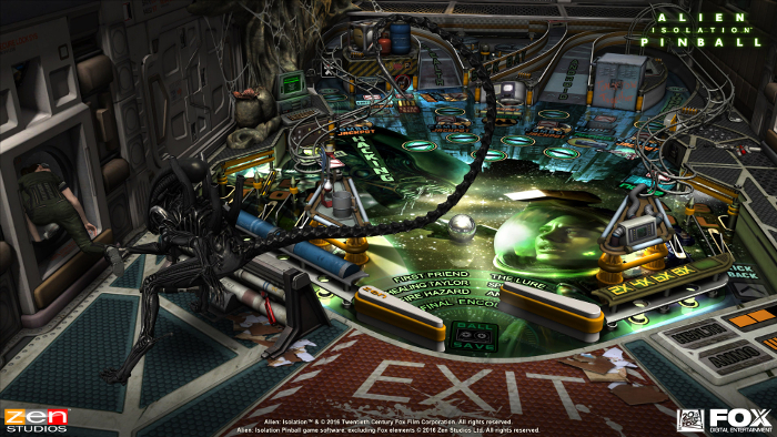 130416_09 Aliens vs. Pinball Trailer and Details Released