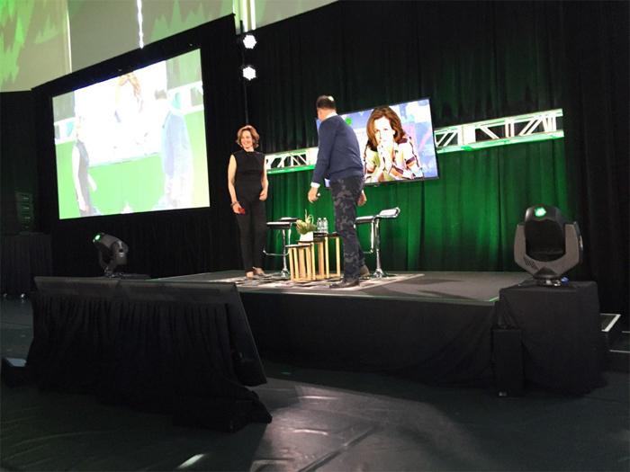 Sigourney Weaver Updates on Blomkamp's Alien 5 at VMware event. Photograph taken by Eric L Nielsen. Sigourney Weaver Updates Us On Blomkamp's Alien 5!