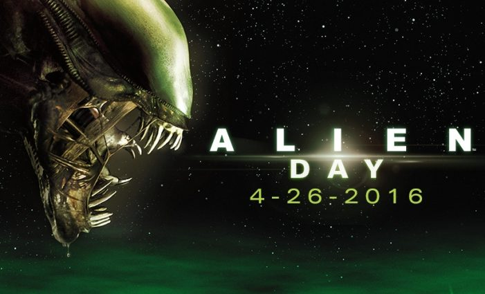 Alien Day! Happy Alien Day! Giveaways, Merchandise, Cinema Roundup