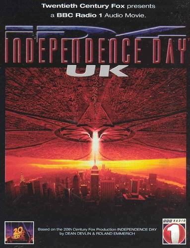 Dirk had previously worked with 20th Century Fox on a UK based audio dramatization to promote Independence Day. Dirk Maggs Interview
