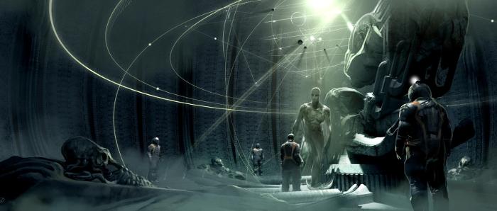 Prometheus concept art. Engineering Prometheus - From Jon Spaihts to Damon Lindelof